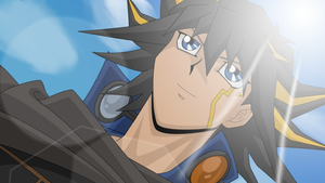 Yusei in Tag Force 5 2 by BlueYusei