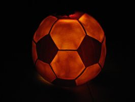 Soccerball lit up by kissel71