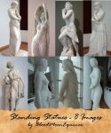 Standing Statues - 8 Images by BloodMoonEquinox