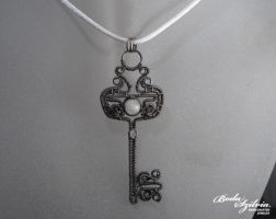 Heavenly key pendant by bodaszilvia