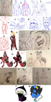 C-D : Sketches N' Stuff 6 by Zap-Zap-Forever