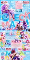 [MAL Layout] CHECKMATE! feat No Game No Life by Shino-P