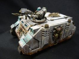 Lord's of Decay Deathguard Rhino by Solav