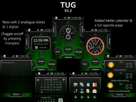 TUG v1.2 WAD2 VGA Theme by CAY720325