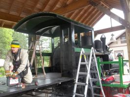 Shay Cab Progress by PRR8157