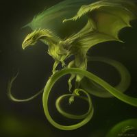 Vine Dragon by AlectorFencer