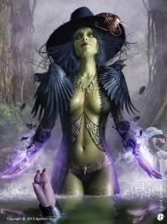 Witch of the east - 2 by DavidGaillet