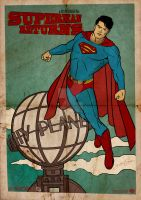 Superman Return Vintage Poster by GTR26
