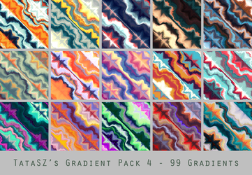 Gradient Pack 4 by tatasz