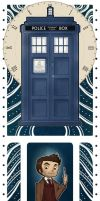 Doctor Who Bookmark by ScandinavianLullaby