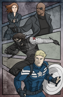 Winter Soldier by DeanGrayson