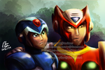MMX: The Maverick Hunters by witch-girl-pilar
