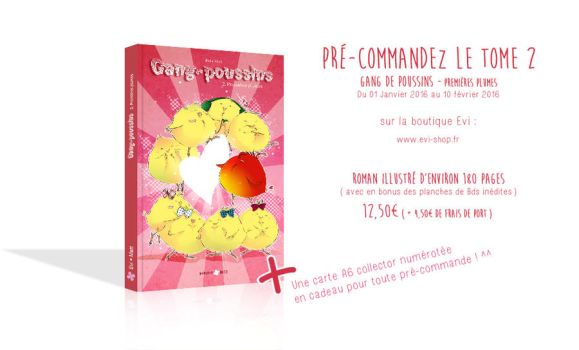 Tome 2 - Gang de poussins by Evi-san