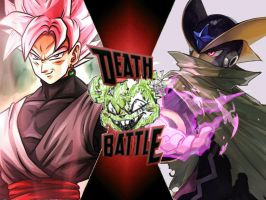Goku Black vs Bass EXE by ToxicMouse77