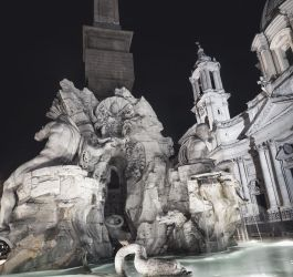 Piazza Navona by Pipera