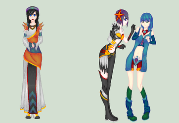 .:My Part:. Costume Parade by Harsiii-Pixels