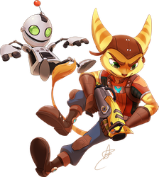 FF: Ratchet and Clank by Seyumei