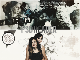 -PSD HEADER- by demilena1D