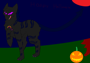 when you're evil :halloween picture: by BluethornWolf