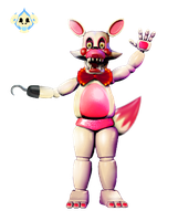 Toy/Funtime Foxy edit by ShadowToyChica