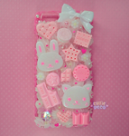 Sweets Themed Decoden Phone Case for iPhone 6 by CutieDeco
