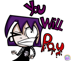 You Will Pay!! by Becatrox