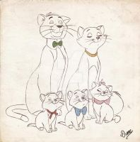 Aristocats by DianeAz