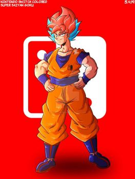 Super Saiyan Switch Goku