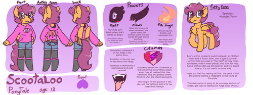 PT Scootaloo reference sheet(Updated) by synnibear03