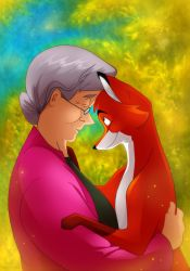 The Fox and the Widow by DrZime
