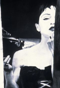 Madonna - Charcoal - Brigitte Lattanzio by brigel333