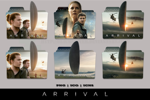 Arrival (2016) Folder Icon Pack 1 by Bl4CKSL4YER
