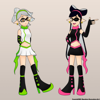 Squid Sisters [Old Designs] by CawinEMD