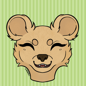 an icon for my fren bear by a3idr
