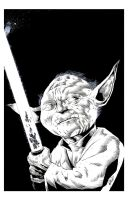 Yoda by drawhard