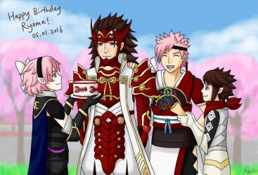 FE - Happy Birthday Ryoma! by MapleRose