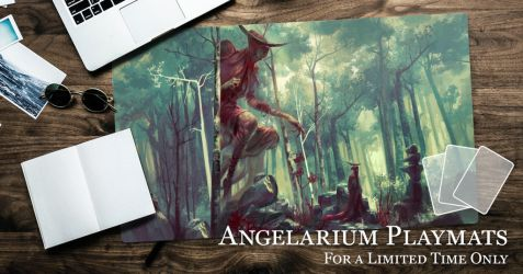 Angelarium Playmat Vault Opening - Ends Oct 22 by PeteMohrbacher
