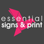Essential Signs and Print Logo, 2014