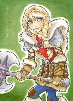 Astrid by TLSeely