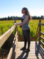 Rachel Looking Over the Corn Maze 5 by Windthin
