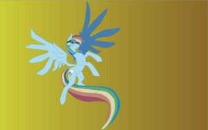 Rainbow Dash SVG by DemonWareXT
