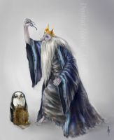Adventure Time - Ice King (Simon) by Elindiriel