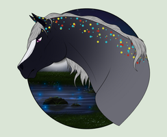 N3035 Strike Of Midnight [Natural Padro Mare] by Plants-And-Tattoos