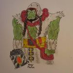 Thrall The World Shaman (Colored) by Ozzymodan