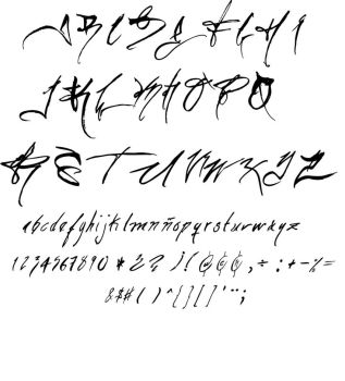 The handwriting of a Designer by Erick-Draves