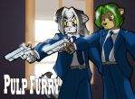 Commission: Pulp Furry by TheBurningDonut