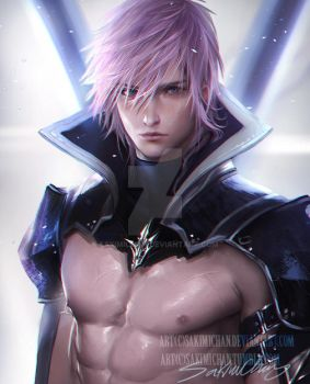 Male Lightning .shirtless tag XD . by sakimichan