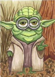 Yoda Minion by Purple-Pencil