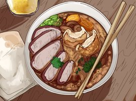 Noodle Joint by Death2Eden