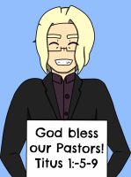 Happy Pastor Appreciation Month by 1234RoseSmith